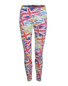 Women's Leggings | Floral Flag