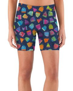 Women's patterned running shorts