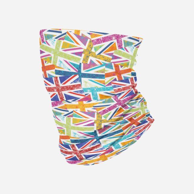 Neck Sleeve | Floral Flag