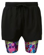 2 in 1 Double Layer Shorts | Squiggle