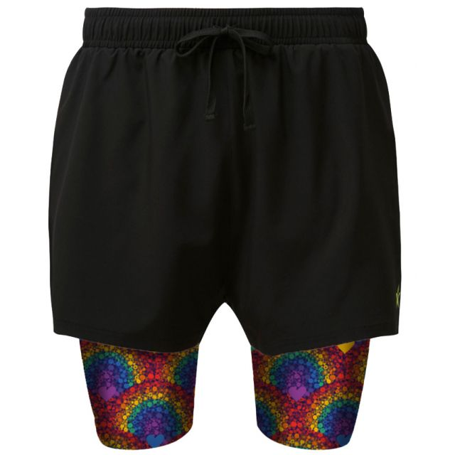 2 in 1 Double Layer Shorts   After the Storm