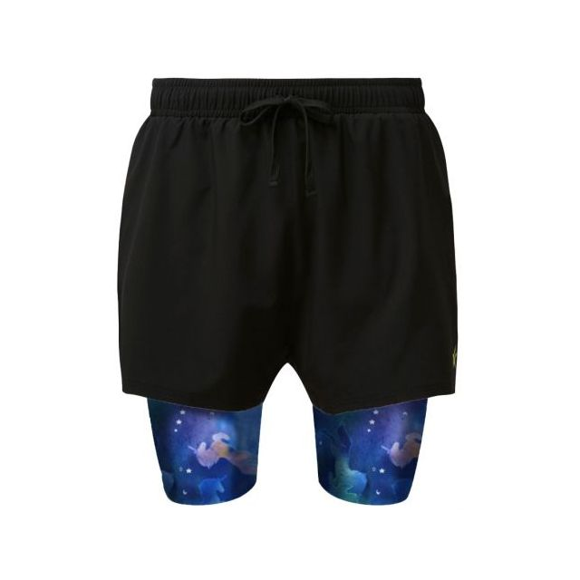 2 in 1 Double Layer Ultra Shorts | Chasing Unicorns