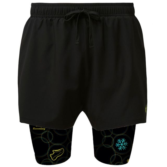 2 in 1 Double Layer Shorts | SRSR Four Seasons