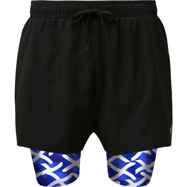 2 in 1 Double Layer Ultra Shorts | Saltire