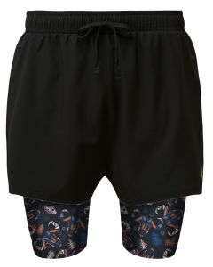 2 in 1 Double Layer Shorts | Buffalo