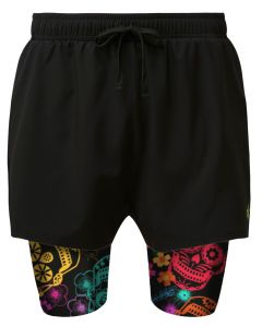 Day of the Dead dual shorts