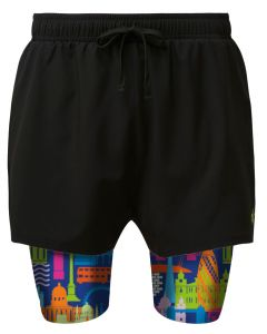 2 in 1 Double Layer Short   London Calling