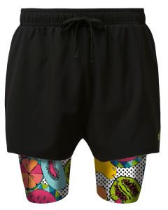 2 in 1 Double Layer Shorts | Tutti Frutti