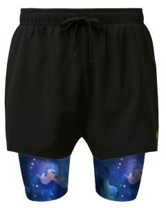 2 in 1 Double Layer Shorts | Chasing Unicorns