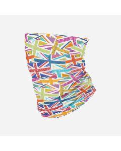 Hoo-rags | Neck Sleeve | Floral Flag