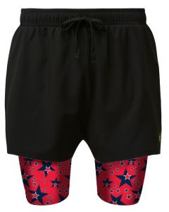 2 in 1 Double Layer Shorts | Red Dwarf