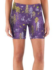 Womens purple running shorts