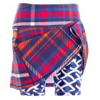Cava tartan skort with Saltire shorts