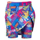 Rear view of London Calling skort